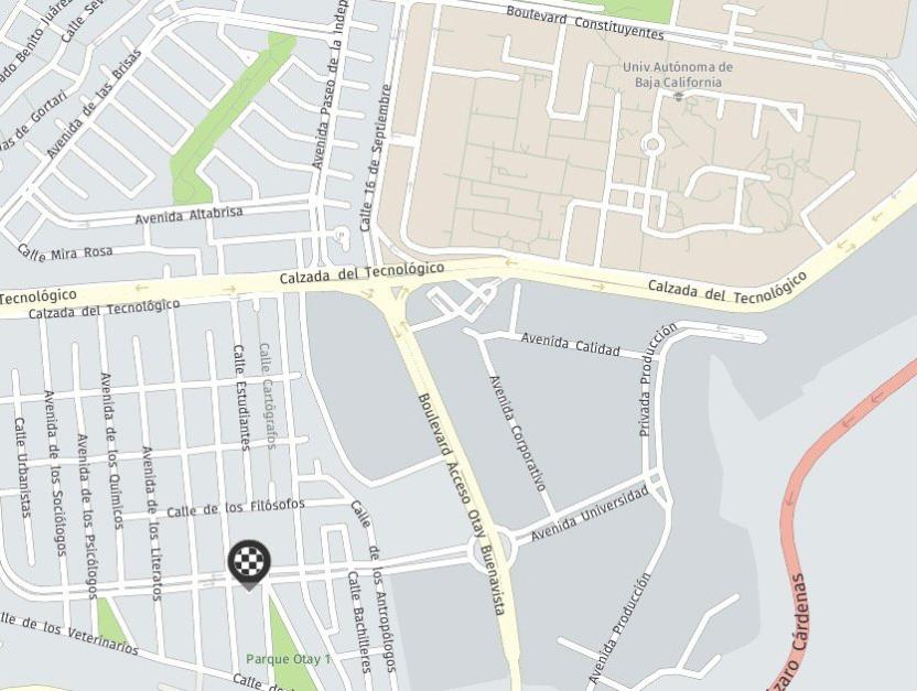 Kaffein se encuentra sobre la Avenida Universidad en Otay