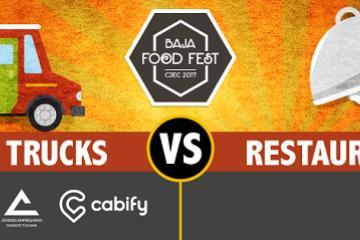 Food Trucks vs Restaurantes en Baja Food Fest ¡El evento ideal...