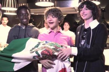 Stranger Things Cast Enjoy a Mexican Night!