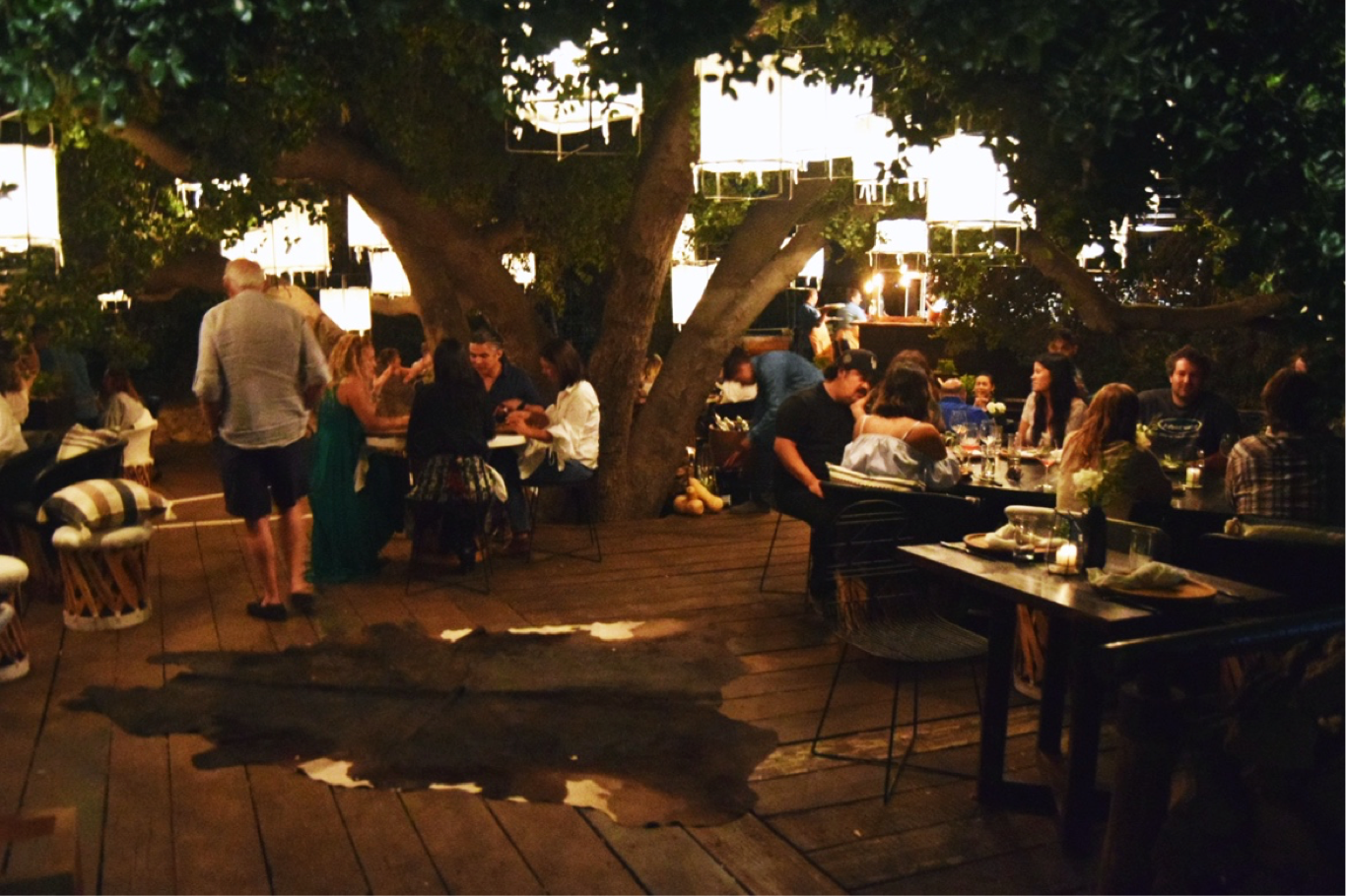 Sixty Diners Gathered For The Opening Night As They Will Every Thursday And Friday From Now Through September 9th Enjoyed 8 2 Courses Along With