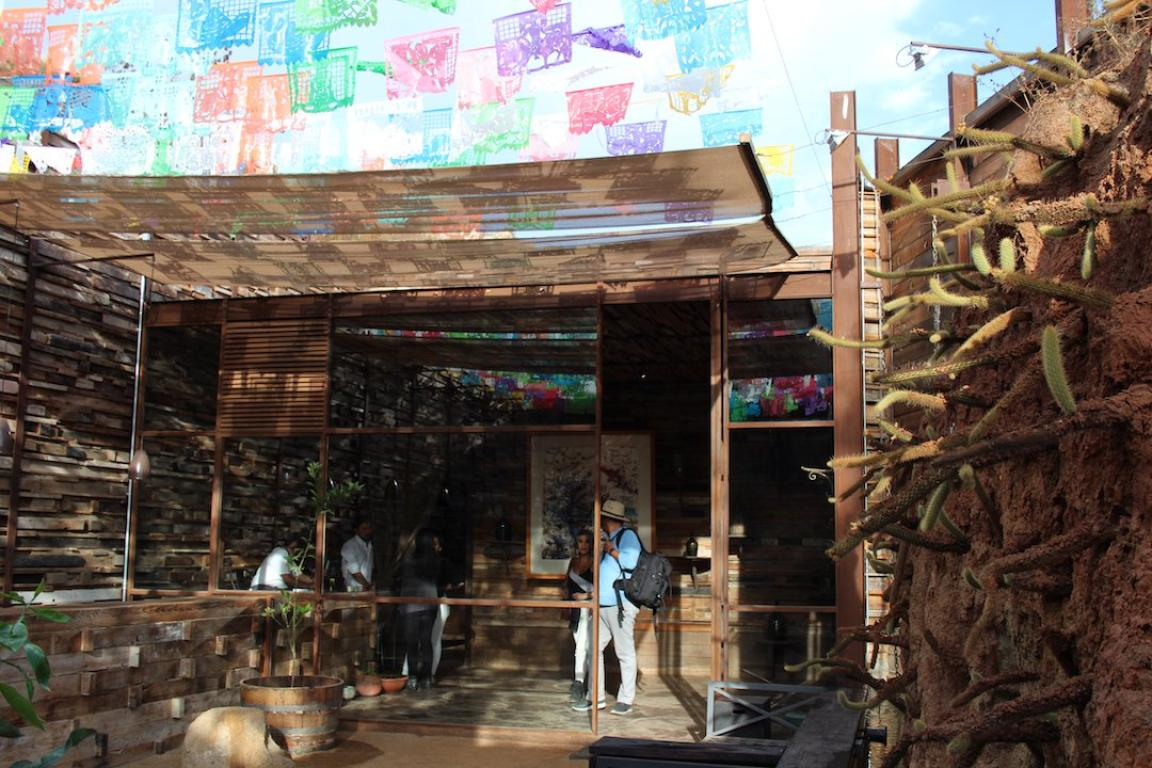 Se encuentra en el corazón del Valle de Guadalupe dentro de la Vinñicola Bruma. Foto: Ángel García