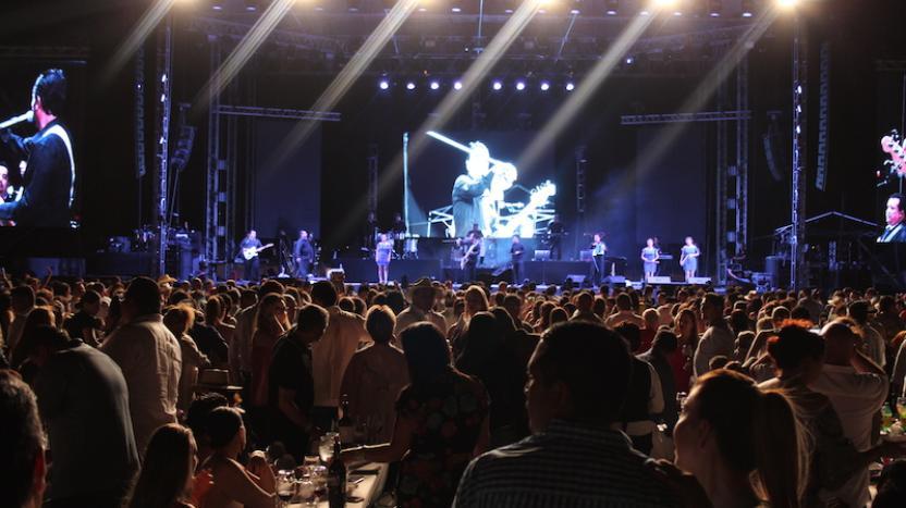 Más de 9 mil personas bailaron al ritmo de la cumbia