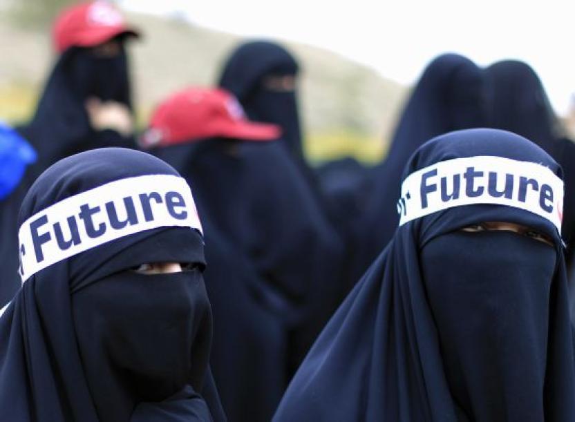Protestas en Yemen contra el Gobierno y la ley. Fotografía de Reuters