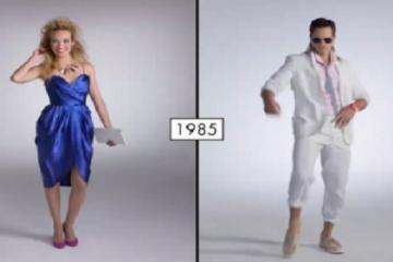 The evolution of fashion in 100 years!