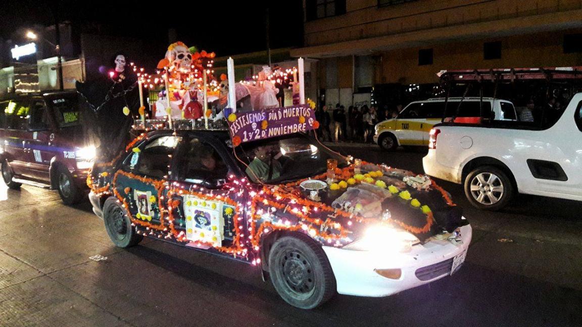 Bonita manera de llevar nuestras tradiciones mexicanas