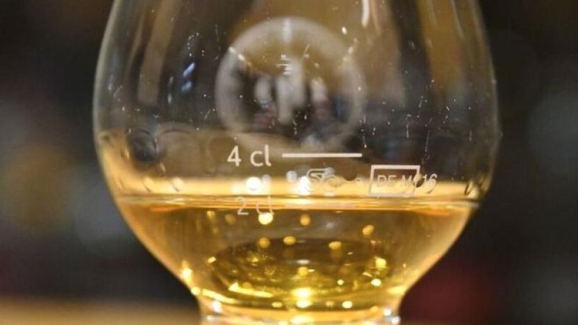 Al realizarse la investigación se descubrió que la botella ni su contenido eran genuinos