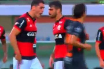 Video | Pelean jugadores del Flamengo