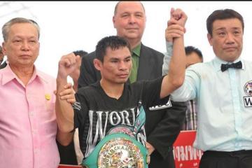 Boxeador asiático cerca de superar marca de Mayweather
