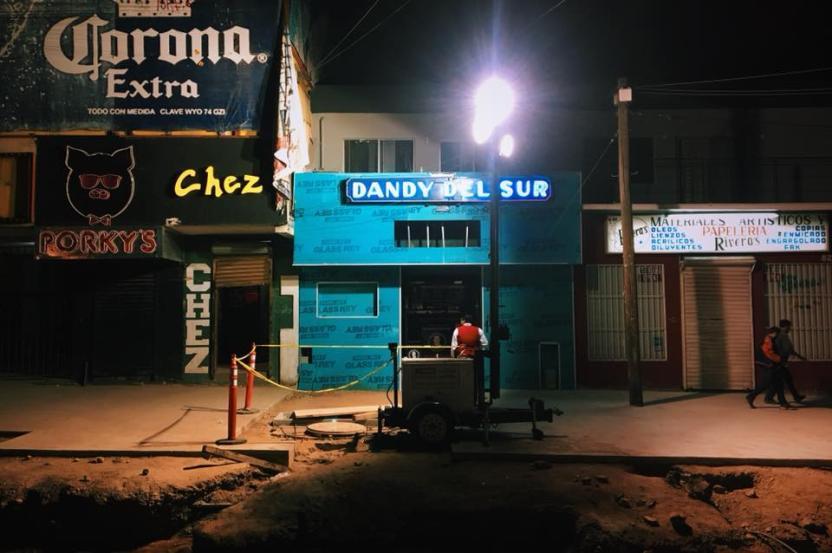 Algunos ya empezaron con el cambio en las fachadas como el Dandy del Sur  Foto: Derrik Chinn