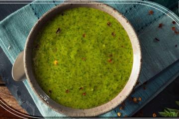 VIDEO: Esta salsa de chimichurri de aguacate es perfecta para...