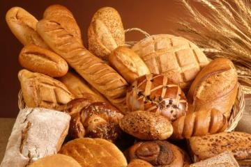 A weight loss diet, eating bread!