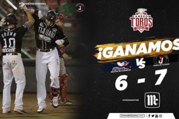 Toros vence a Piratas de Campeche en reñido partido