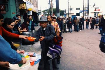 Tijuana Project Food Not Bombs Calls the Community to Help...
