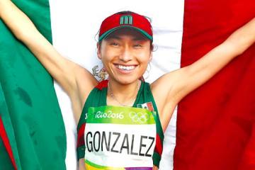Marchista mexicana logra medalla de oro en China