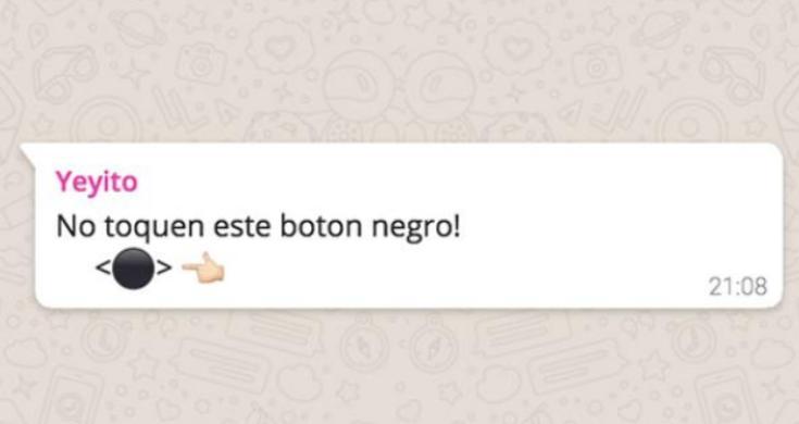El Botón Negro En Whatsapp Que Está Circulando Y No Debes Tocar Sandiegored Com