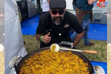 Chef from Tijuana Wins Prize at the 4th Annual Paella, Wine and...