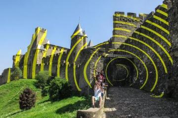 El arte plasmado en el castillo francés que inspiró la Bella...