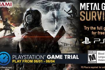 Metal Gear Survive está gratis este fin de semana
