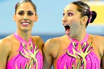 México gana todas las medallas de oro natación en artística