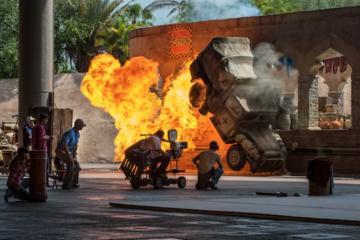 Conoce los robots que hacen las escenas de acción de Disney