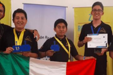 Mexican Students Win Five Gold Medals in Robotics Competition
