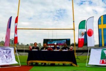 Por primera vez, Mundial de fútbol americano será en México