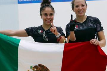La dupla mexicana gana oro en raquet femenil