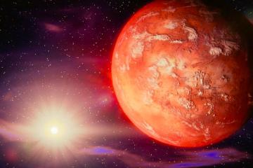 Hoy se podrá ver Marte a simple vista