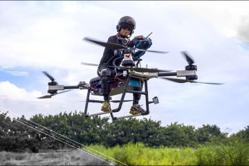 VÍDEO: Ya existe la moto voladora