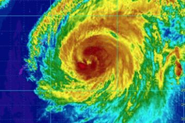Tifón Jebi, el más fuerte en 25 años se acerca a Japón