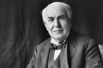 Thomas Alva Edison, paisano