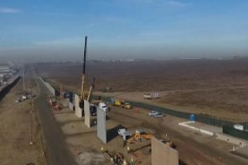 Prototipos de muro fronterizo fallan pruebas