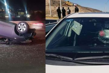 Aumentan casos de automovilistas agredidos por piedras