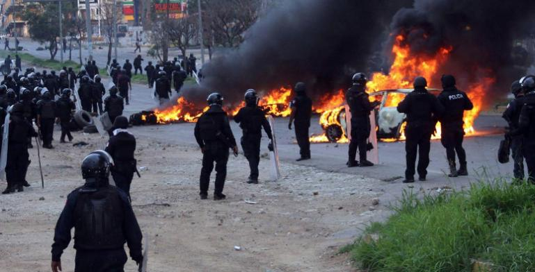 La inseguridad y la violencia en México