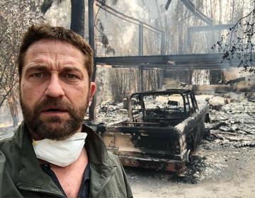 Famosos afectados por el incendio en California