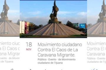 Se organizan grupos de resistencia anti inmigrantes en Tijuana