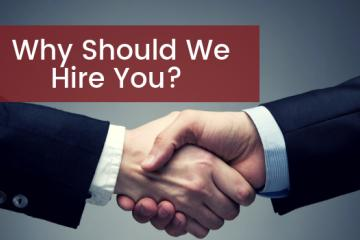 Why Should We Hire You? Here's How You Ace One Of The Most...