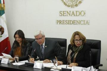Senadores piden trato respetuoso para migrantes