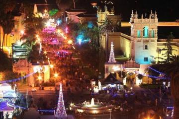 """Balboa Park se iluminará con """"December Nights"""""""
