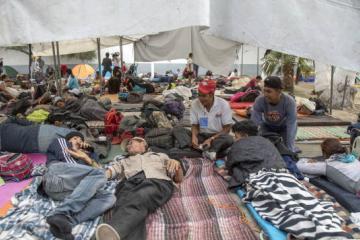 Migrantes estarían de 6 a 16 meses en Tijuana