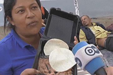 "Hondureña que ""rechazó"" plato de frijoles pide..."