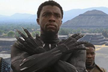 "Protagonista de ""Black Panther"" visita Teotihuacán"