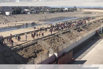 Economía de Tijuana sufrió por Caravana: Bernabé Esquer