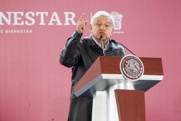 AMLO asks not to protect thieves