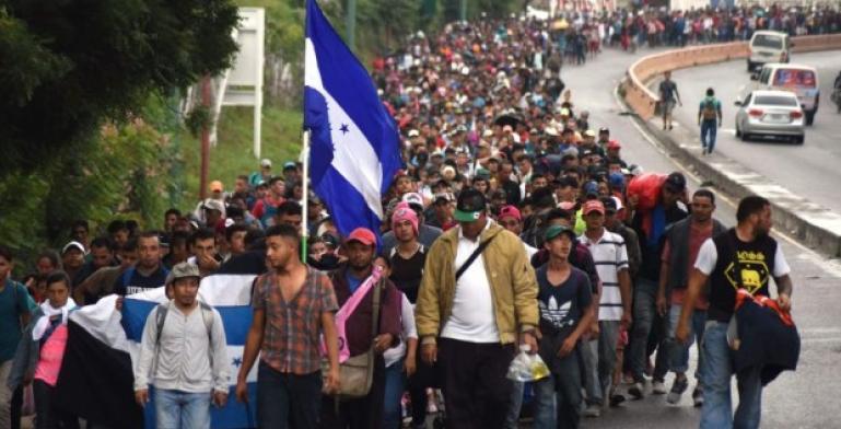 Comienza a formarse nueva caravana migrante en Honduras