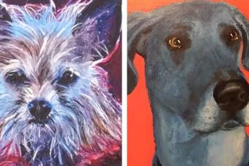 Go to Rosarito and paint your pet