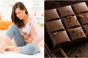 The Swiss Chocolate that can relieve your period cramps