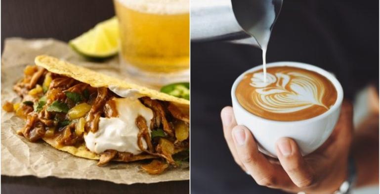 Tacos, cerveza y café: Tus cosas favoritas en un mismo lugar