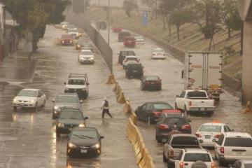 Yet another day of rain for Tijuana