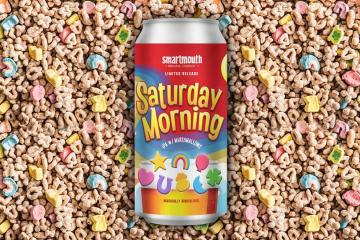 There's a Lucky Charms flavored beer and we can't wait to try it